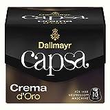 Dallmayr Capsa Crema d'Oro, Nespresso Kompatibel Kapsel, Kaffeekapsel, Röstkaffee, Kaffee, 50 Kapseln