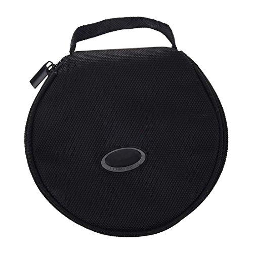 TOOGOO(R) Home Auto Reissverschluss DVD CD-Discs Halter Tasche schwarze Aufbewahrungstasche