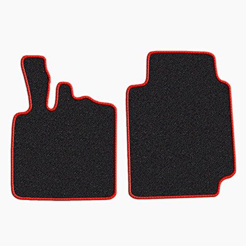 tappetini-per-smart-fortwo-w450-anni-1998-2007-senza-battitacco-moquette-nero-bordo-rosso-cuciture-a