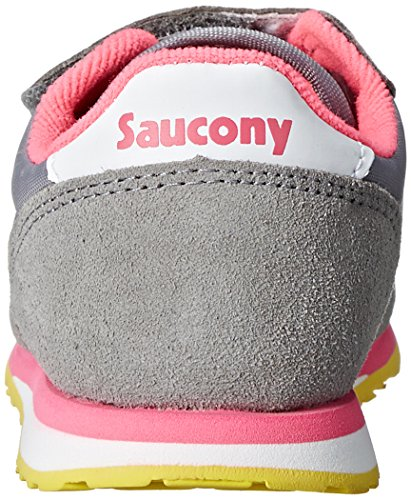 SAUCONY ST51692 JAZZ HL grey pink scarpe bambina girls strappo Grigio