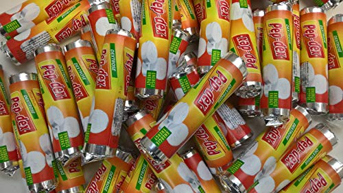 100 Traubenzucker Röllchen Fruchtgeschmack Wurfmaterial Karneval Fasching