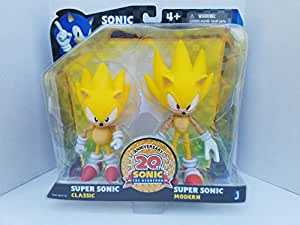 Sonic the Hedgehog 5-inch Through Time Action Figures (Pack of 2)