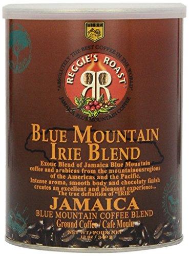 Jamaica Blue Mountain Coffee, Irie Blend Ground Coffee , Tin 340g -
