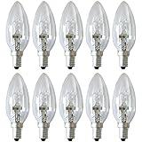 10 x kaars Eco gloeilamp 18W = 25W / 23W E14 halogeen lamp kaarsen