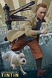 Poster Les aventures de Tintin et Milou (61cm x 91,5cm) + un poster surprise en cadeau!...