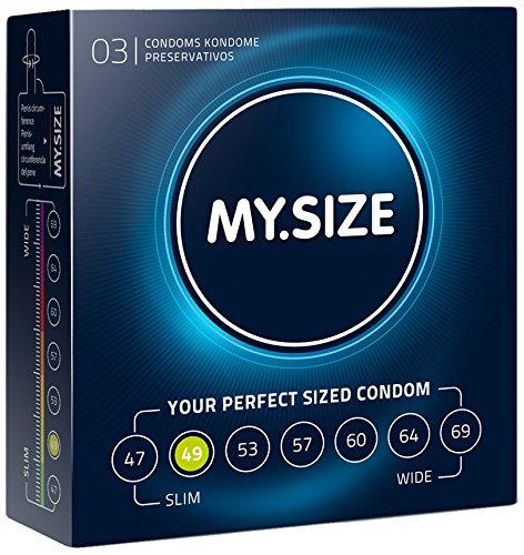 My.Size Kondome, 49 mm, 3 Stück