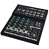 Mackie Mix8 8 Channel Compact Mixer with Low Noise Performance