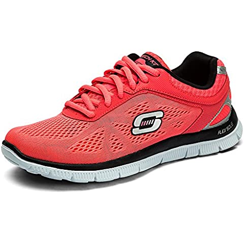 Skechers Flex Appeal Love Your Style - Zapatillas de material sintético mujer