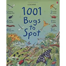 1001 Bugs Things to Spot (Usborne 1001 Things to Spot) by Emma Helborough (2009-03-27)