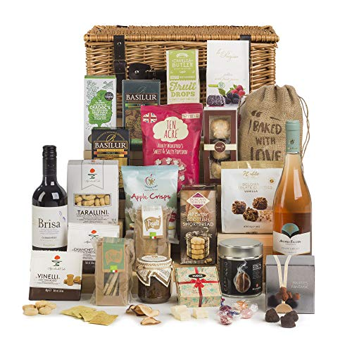 Hay Hampers Time for Wine Hamper Basket- FREE UK Delivery