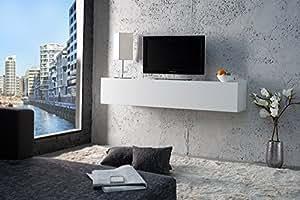 h ngeschrank 1 klapptuer horizontal cube 139 x 29 x 31 cm wei hochglanz k che. Black Bedroom Furniture Sets. Home Design Ideas
