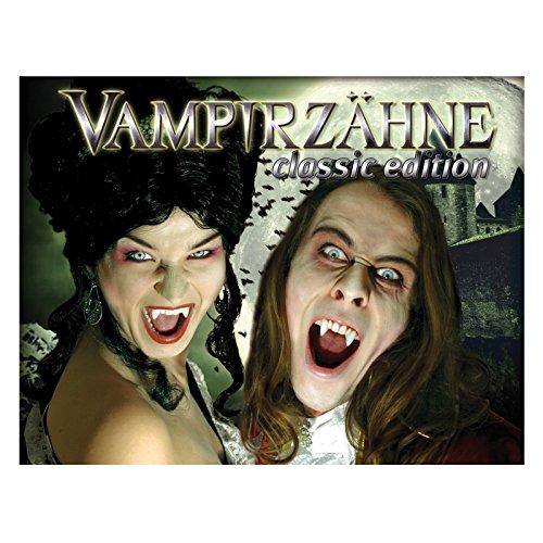 Vampirzähne Deluxe-Set inkl. Zahnkleber