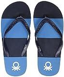 United Colors of Benetton Men's 18P8CFFPM036I Blue/Navy Flip-Flops-10 UK/India (44 EU)(18P8CFFPM022I)