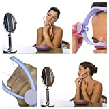#4: Modulyss Slique Eyebrow Face and Body Hair Threading Removal Epilator System Kit