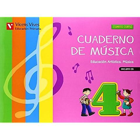Cuaderno De Música 4 (+CD)