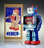 Herr D-Cell Red Zinn Sammler Retro-Zinn-Roboter.