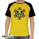 ABYstyle abystyleabytex218-m Abysse One Piece Trafalgar Law Maniche Corte Uomo Premium t-Shirt (Medium)