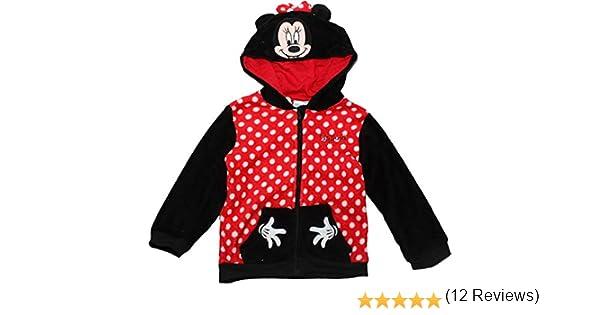 Neonato Poliestere Disney Baby Minnie RH0037 Felpa con Cappuccio