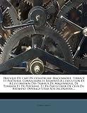 Telecharger Livres Pratique de L Art de Construire Maconnerie Terrace Et Platrerie Connaissances Relatives A L Execution Et A L Estimation Des Travaux de Maconnerie Du Batiment Ouvrage Utile Aux Ingenieurs (PDF,EPUB,MOBI) gratuits en Francaise