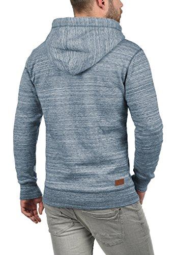 !Solid Kevin Herren Kapuzenpullover Hoodie Pullover Mit Kapuze Und Fleece-Innenseite, Größe:XXL, Farbe:Insignia Blue (1991) - 3
