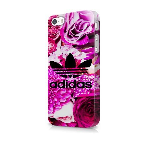 iPhone 5/5S/SE coque, Bretfly Nelson® LOGO ADIDAS Série Plastique Snap-On coque Peau Cover pour iPhone 5/5S/SE KOOHOFD919493 ADIDAS LOGO - 029