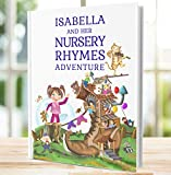 1st Birthday Gift for Children, A Personalised Nursery Rhymes and Modern Poems Book - Handmade - Unique Keepsake Present