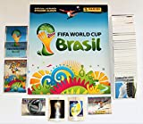 Panini WM 2014 Brasilien - Komplettsatz aller 640 Sticker + Leeralbum