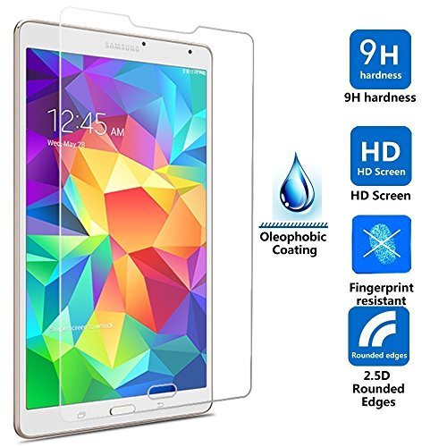IVSO Premium Hartglas-Displayschutz für Samsung Galaxy Tab-E 9,6 Zoll Tablet Tempered-Glass - 1 Pack for Galaxy Tab E 9.6-Inch