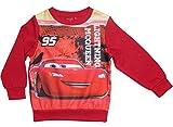 Cars 3 Kollektion 2017 Sweatshirt Pullover 92 98 104 110 116 122 128 Jungen Neu Disney Lightning McQueen (92 - 98; Prime, Rot)