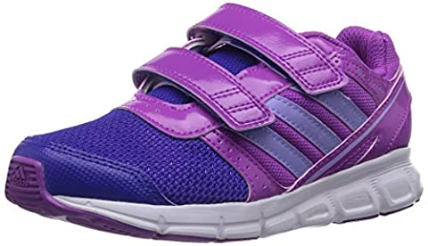 Adidas Hyper Fast, Chaussures mixte enfant - Rose - Pink (Flash Pink S15/Glow Purple S14/Night Flash S15), 35 EU