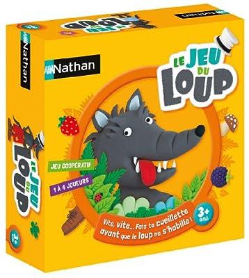 Nathan - 31129 - Jeu de Société - Le Jeu du Loup