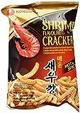 Nong Shim Shrimp Flavoured Cracker – Krabbenchips scharf & würzig - koreanischer Snack für jeden Tag – 30er Vorteilspack à 75g