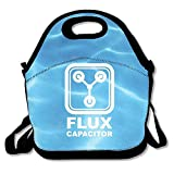 Icndpshorts Back to The Future Flux Capacitor Turquoise Lunch Bag Adjustable Strap