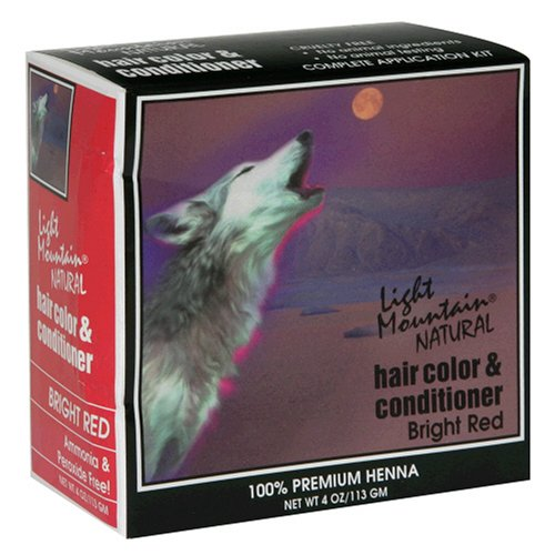 Light Mountain Bright Red Henna (1x4oz )