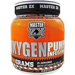 Master ZX | Oxygen Pump - Pre-Entreno 300gr (Limón)