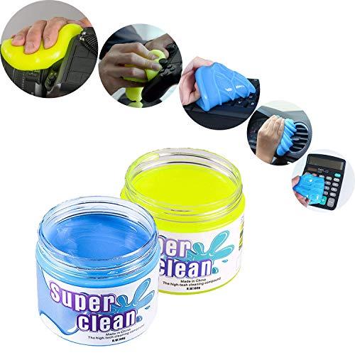 FancyAuto Staubreiniger Slime Magic Cleaning Gel für Keyboard Phone Laptop Car Interior etc