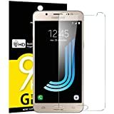 NEW'C Verre Trempé pour Samsung Galaxy J5 2016 (SM-J510), Film Protection écran - Anti Rayures - sans Bulles d'air -Ultra Résistant (0,33mm HD Ultra Transparent) Dureté 9H Glass
