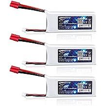 Syma X8C batería - Keenstone Batería Syma Drone Quadcopter 7.4V 2200mAh 30C Litio baterías para Syma X8C X8G X8W X8HC X8HG X8HW ( 3 PCS )