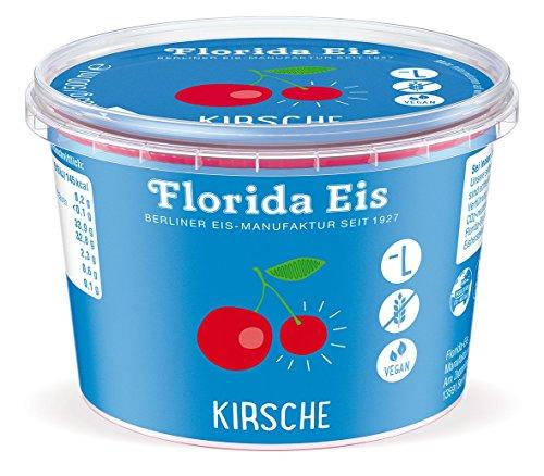 """Preisvergleich Produktbild Fruchteis """"Florida Eis"""" Kirsch - Familienpackung - 500ml"""