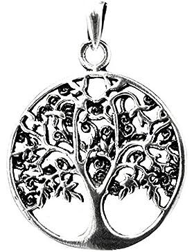 Lebensbaum Anhänger aus 925 Sterling Silber Nr. 165