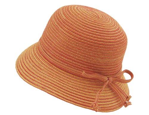 seeberger-chapeau-de-soleil-femme-orange-orange-hummer-medium