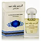HARAMAIN WHITE OUDH 15ML CONCENTRATED PURE PERFUME ROLL-ON - UNISEX