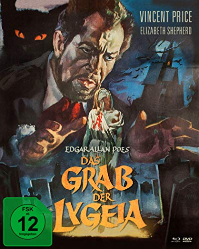 Das Grab der Lygeia (Mediabook, Blu-ray+DVD) (Version B)
