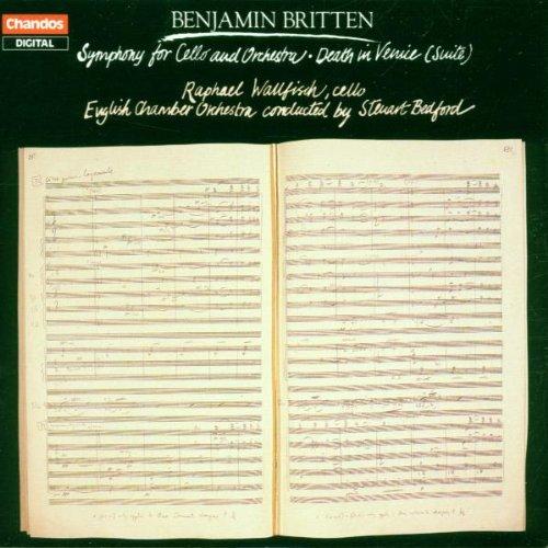 Cello Symphony Op 88;Mort A Venise Op 88 [Import anglais]