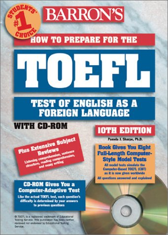 HOW TO PREPARE FOR THE TOEFL 10TH EDITION LIVRE ET CD ROM