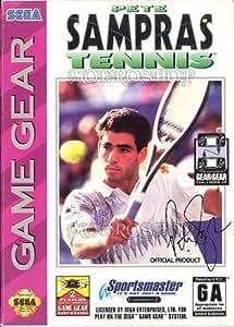Pete Sampras Tennis Sega Game Gear