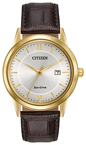 citizen-watch-mens-quartz-watch-with-silver-dial-analogue-display-and-brown-leather-strap-aw1232-04a
