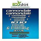 PEGATINAS CUADRO FRAME CANNONDALE CADD 10 AM28 STICKERS AUFKLEBER DECALS ADESIVI BIKE BTT MTB CYCLE BLANCO / WHITE