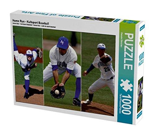 Home Run - Kultsport Baseball 1000 Teile Puzzle quer (CALVENDO Sport) Preisvergleich