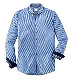 OLYMP Hemd Trachtenhemd Level 5 Body Fit blau, Größe L